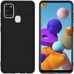 iMoshion Coque Color Samsung Galaxy A21s -  Noir