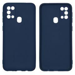 iMoshion Coque Color Samsung Galaxy M31 - Bleu foncé