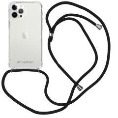 iMoshion Coque avec cordon iPhone 12 Pro Max - Noir