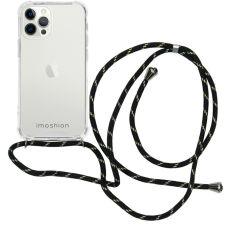 iMoshion Coque avec cordon iPhone 12 Pro Max - Noir / Dorée