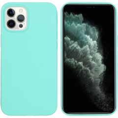 iMoshion Coque Color iPhone 12 Pro Max - Turquoise