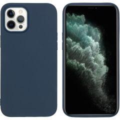 iMoshion Coque Color iPhone 12 Pro Max - Bleu foncé