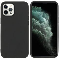 iMoshion Coque Color iPhone 12 Pro Max - Noir