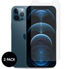 iMoshion Protection d'écran en verre durci 2 pack iPhone 12 Pro Max
