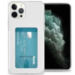 iMoshion Coque silicone avec support de passe iPhone 12 Pro Max