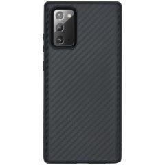 RhinoShield Coque SolidSuit Samsung Galaxy Note 20 - Carbon Fiber
