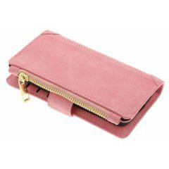 Porte-monnaie de luxe iPhone SE / 5 / 5s - Rose