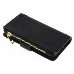 Porte-monnaie de luxe iPhone SE / 5 / 5s - Noir