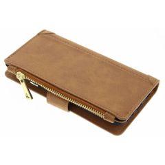 Porte-monnaie de luxe iPhone 6 / 6s - Brun