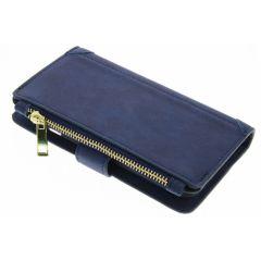 Porte-monnaie de luxe iPhone 6 / 6s - Bleu foncé