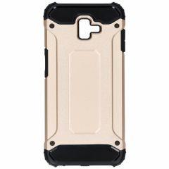 Coque Rugged Xtreme Samsung Galaxy J6 Plus - Dorée