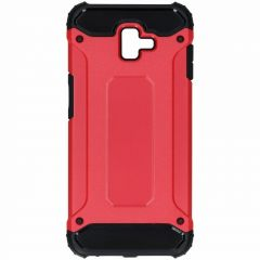 Coque Rugged Xtreme Samsung Galaxy J6 Plus - Rouge