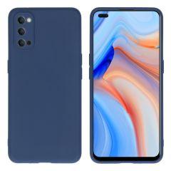 iMoshion Coque Color Oppo Reno4 5G - Bleu foncé
