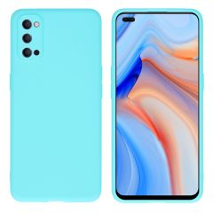 iMoshion Coque Color Oppo Reno4 5G - Turquoise