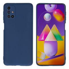 iMoshion Coque Color Samsung Galaxy M31s - Bleu foncé
