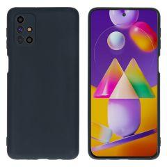 iMoshion Coque Color Samsung Galaxy M31s - Noir
