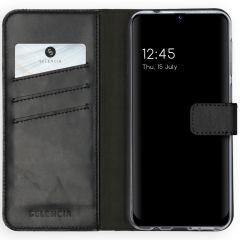 Selencia Étui de téléphone en cuir véritable Samsung Galaxy M31