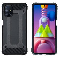 iMoshion Coque Rugged Xtreme Samsung Galaxy M51 - Noir