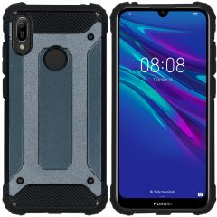 iMoshion Coque iMoshion Rugged Xtreme Huawei Y6 (2019) - Bleu foncé