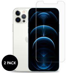 iMoshion Protection d'écran en verre durci 2 pack iPhone 12 (Pro)