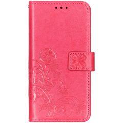 Etui de téléphone Fleurs de Trèfle Samsung Galaxy A10