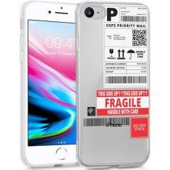 iMoshion Coque Design iPhone SE (2020) / 8 / 7 / 6(s) - Étiquette