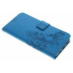 Etui de téléphone Fleurs de Trèfle Samsung Galaxy S9 plus