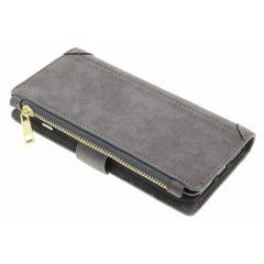 Porte-monnaie de luxe iPhone 8 Plus / 7 Plus - Gris