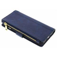 Porte-monnaie de luxe iPhone 8 Plus / 7 Plus - Bleu foncé