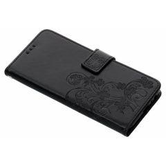 Etui de téléphone Fleurs de Trèfle Samsung Galaxy J6 Plus