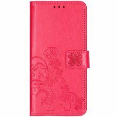 Etui de téléphone Fleurs de Trèfle Huawei Mate 20 Pro - Rose