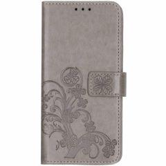 Etui de téléphone Fleurs de Trèfle Huawei Mate 20 Pro - Gris