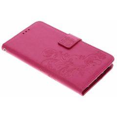 Etui de téléphone Fleurs de Trèfle Huawei 20 Pro - Rose
