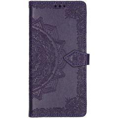 Etui de téléphone portefeuille Samsung Galaxy A71 - Violet