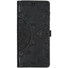 Etui de téléphone portefeuille Samsung Galaxy A71 - Noir