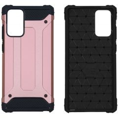 iMoshion Coque Rugged Xtreme Samsung Galaxy Note 20 - Rose champagne