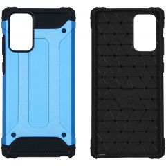 iMoshion Coque Rugged Xtreme Samsung Galaxy Note 20 - Bleu clair