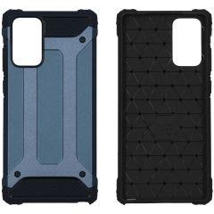 iMoshion Coque Rugged Xtreme Samsung Galaxy Note 20 - Bleu foncé