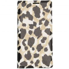Coque silicone design Samsung Galaxy Note 10 - Panther Black