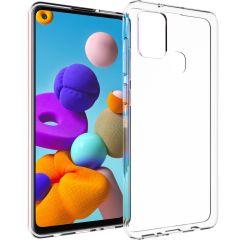 Accezz Coque Clear Samsung Galaxy A21s - Transparent