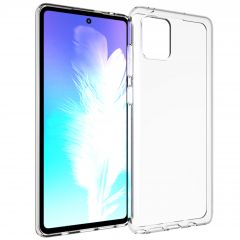 Accezz Coque Clear Samsung Galaxy Note 10 Lite - Transparent