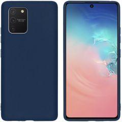 iMoshion Coque Color Samsung Galaxy S10 Lite - Bleu foncé