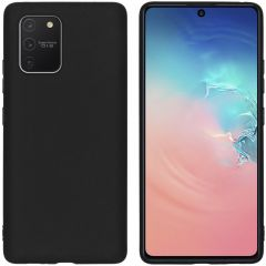 iMoshion Coque Color Samsung Galaxy S10 Lite - Noir
