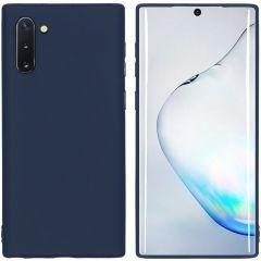 iMoshion Coque Color Samsung Galaxy Note 10 - Bleu foncé