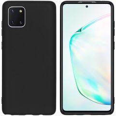 iMoshion Coque Color Samsung Galaxy Note 10 Lite - Noir
