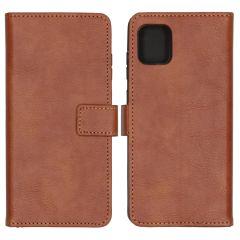 iMoshion Étui de téléphone Luxe Samsung Galaxy Note 10 Lite - Brun
