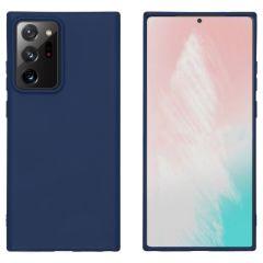 iMoshion Coque Color Samsung Galaxy Note 20 Ultra - Bleu foncé