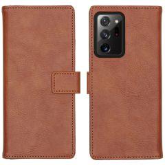 iMoshion Étui de téléphone Luxe Samsung Galaxy Note 20 Ultra - Brun