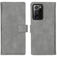 iMoshion Étui de téléphone Luxe Samsung Galaxy Note 20 Ultra - Gris