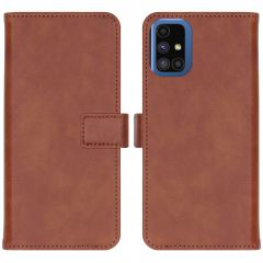 iMoshion Étui de téléphone Luxe Samsung Galaxy M51 - Brun